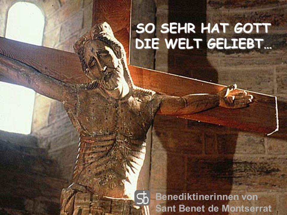 Und vergib uns unsere Schuld. Nicht wie wir vergeben, sondern wie du vergibst, ohne Platz für Hass und Groll. Benediktinerinnen von Sant Benet de Mont
