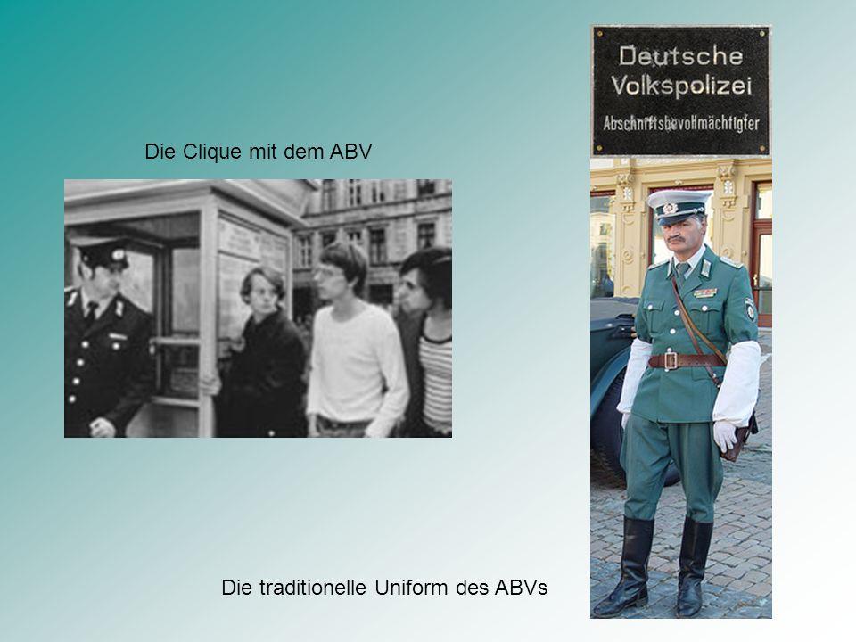 REPRÄSENTANTEN DES STAATS Der ABV Erdmute Löffeling Grenzer Pik Müggelberg