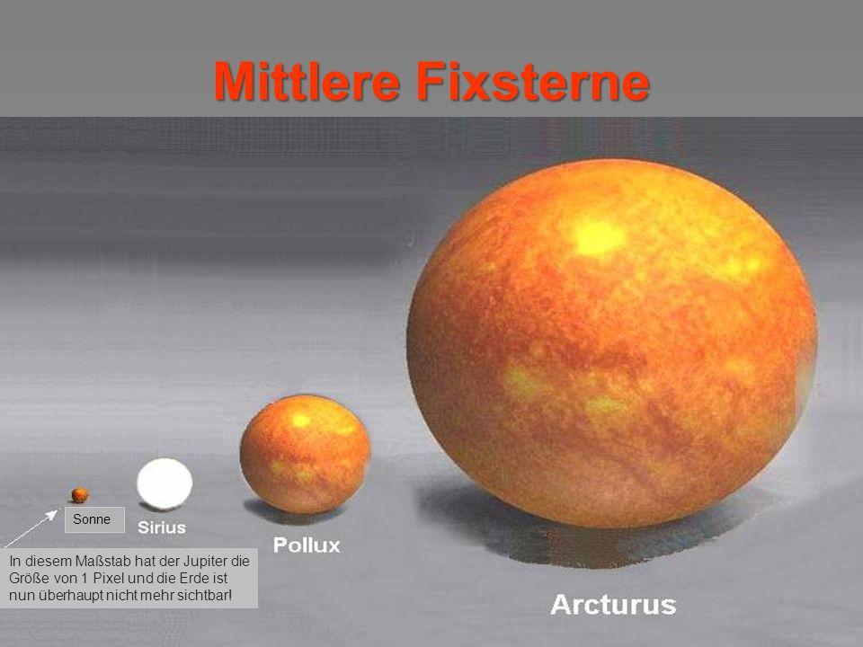 Haben wir etwas Distanz gewonnen? … dann schauen wir jetzt hinter das Sonnensystem...