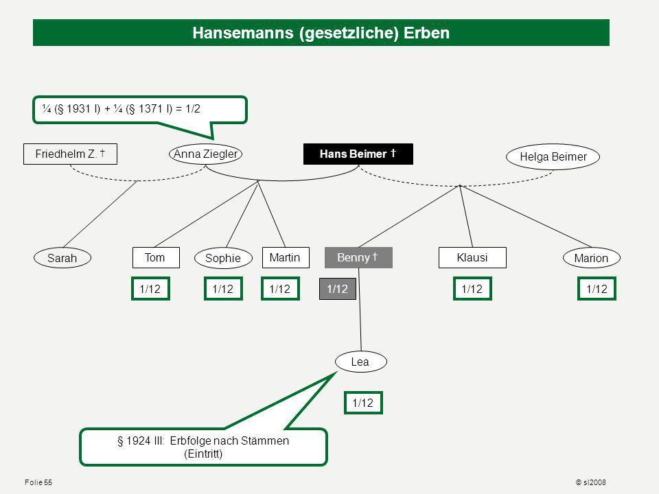 Hansemanns letztes Zeugnis