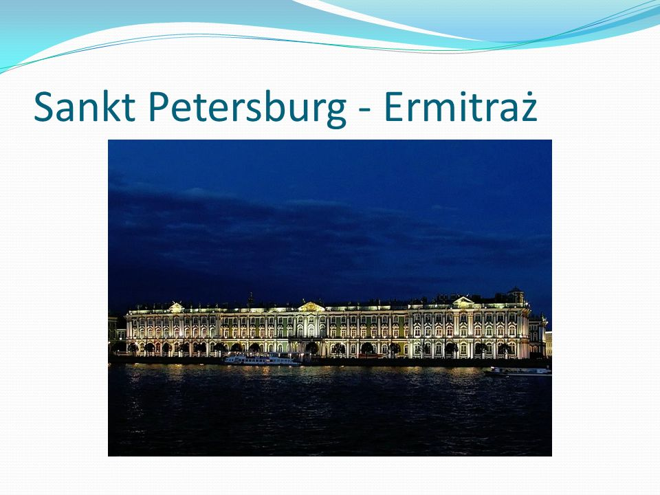 Sankt Petersburg - Ermitraż