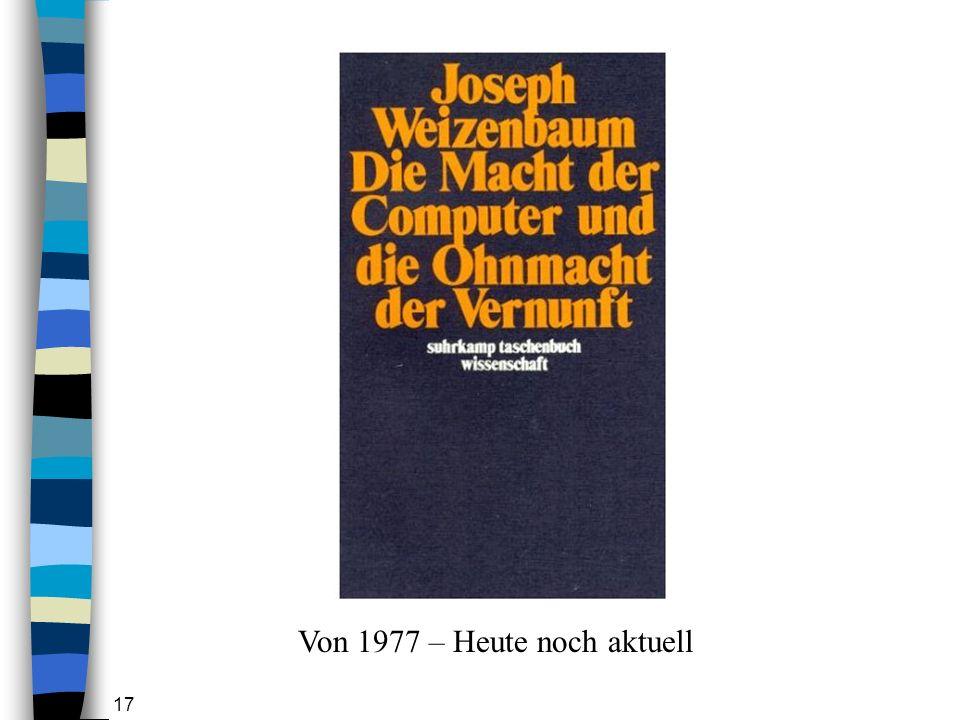 17 Von 1977 – Heute noch aktuell