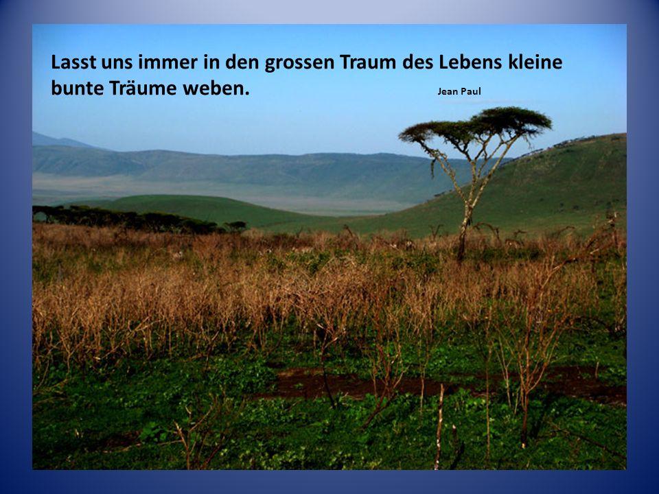 Eine Reise ist ein Trunk aus der Quelle des Lebens. Friedrich Hebbel
