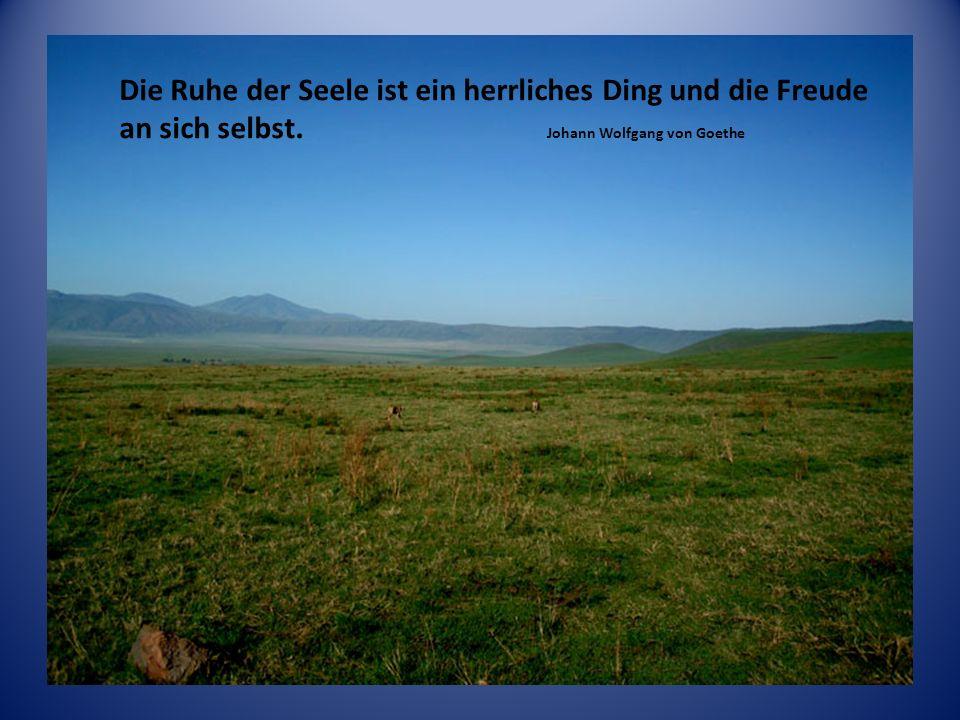 Das wahre und sichtbare Glück des Lebens liegt nicht ausser uns, sondern in uns. Johann Peter Hebel