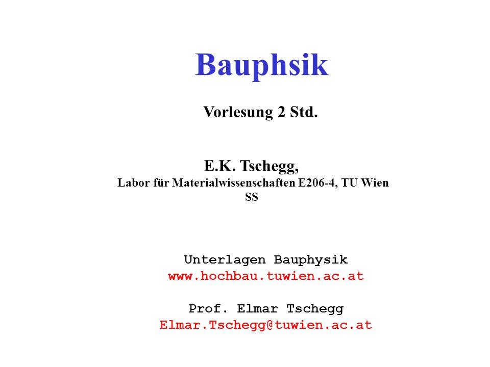 Bauphsik Vorlesung 2 Std.E.K.
