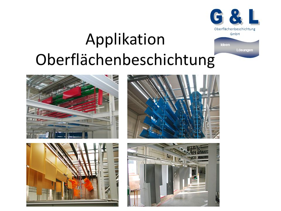 Ideen Lösungen Oberflächenbeschichtung GmbH Applikation Oberflächenbeschichtung
