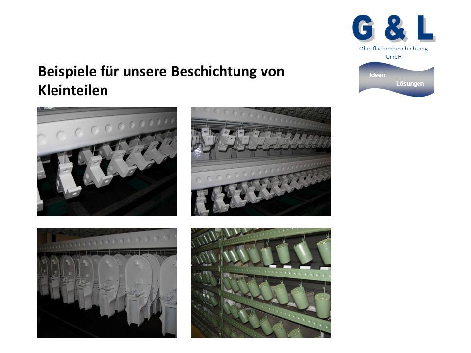 Ideen Lösungen Oberflächenbeschichtung GmbH Beispiele für unsere Beschichtung von Kleinteilen