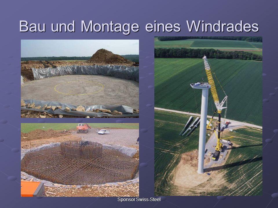 Bau und Montage eines Windrades