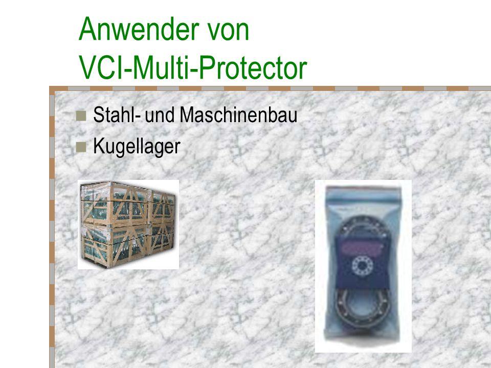 Anwender von VCI-Multi-Protector Militär