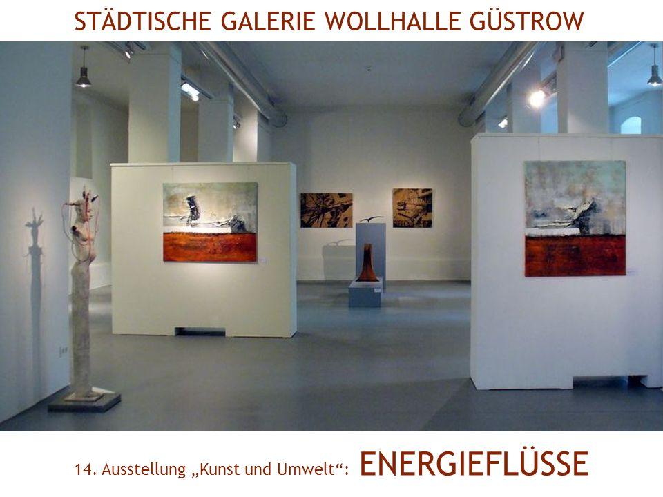 Volker Griener Flüssige Energie Blatt, Fotos Claus Schneidereit Don Chichotte Solarobjekt Christiane Werner Am Fluss Tuschzeichnung