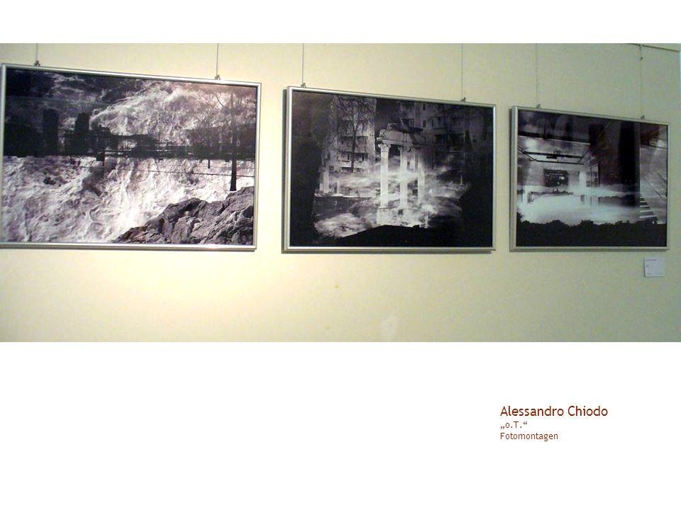 Alessandro Chiodo o.T. Fotomontagen