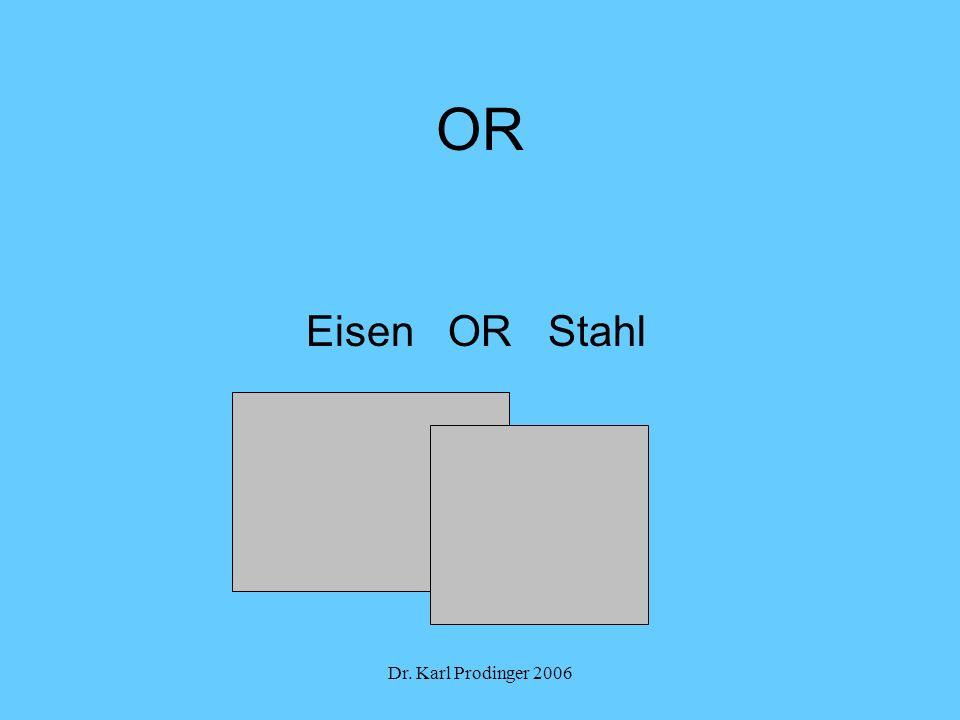 Dr. Karl Prodinger 2006 OR Eisen OR Stahl