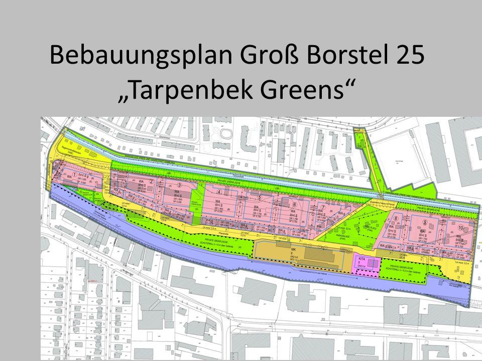 Bebauungsplan Groß Borstel 25 Tarpenbek Greens