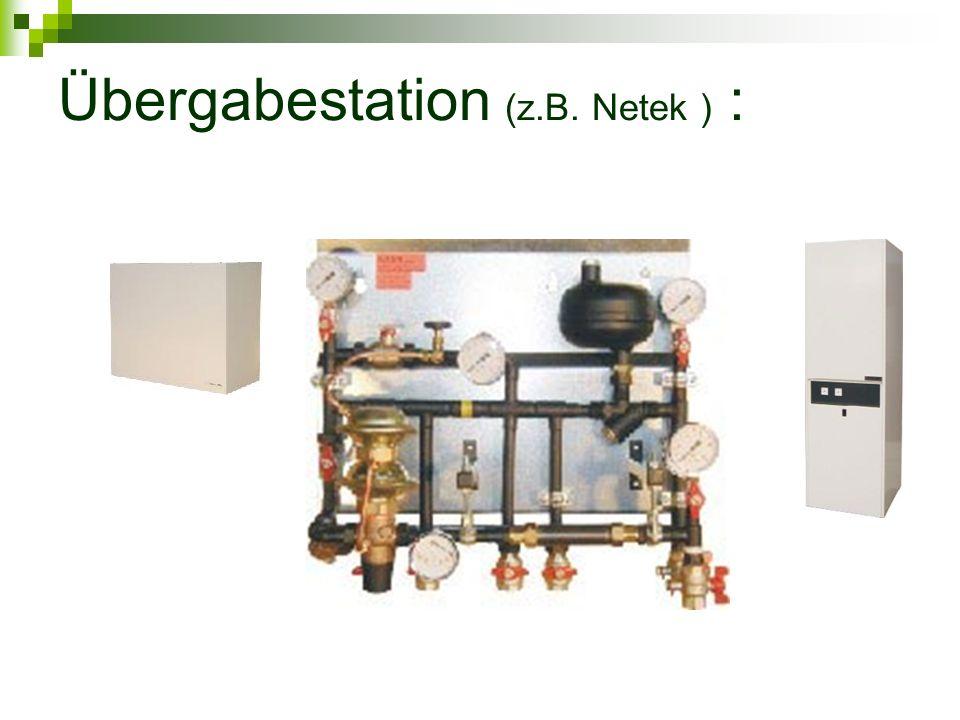 Übergabestation (z.B. Netek ) :