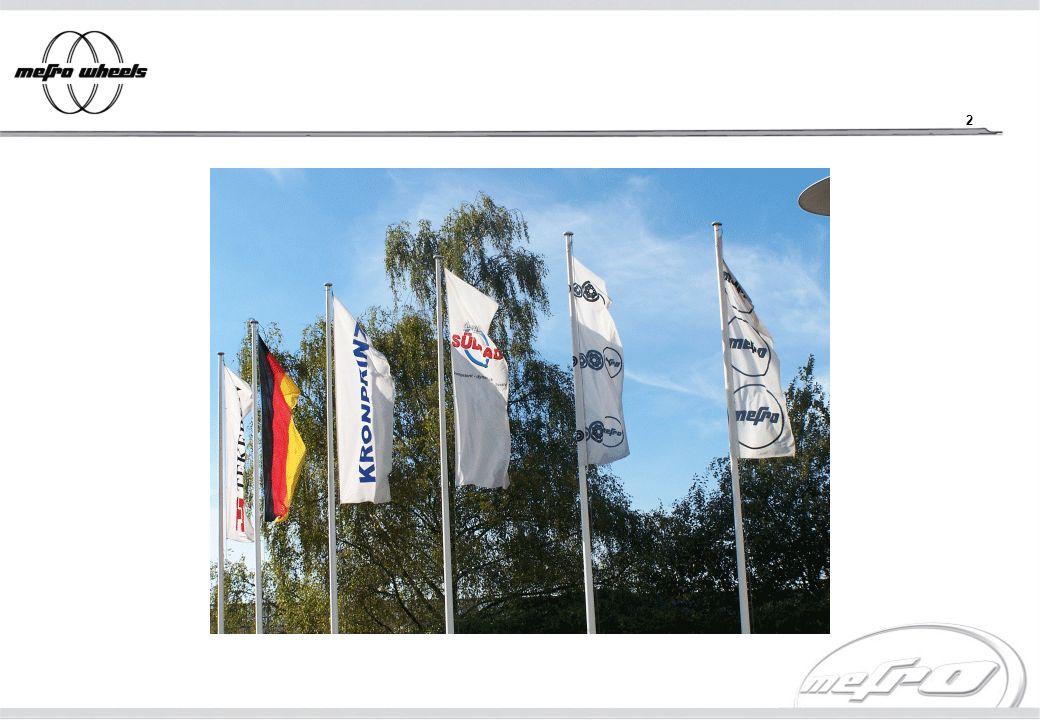 3 Gesellschafterstruktur mefro wheels GmbH D-83101 Rohrdorf KRONPRINZ GmbH D-42697 Solingen 100 % mefro Räderwerk Ronneburg GmbH D-07580 Ronneburg 100 % mefro Roues France S.A.S.
