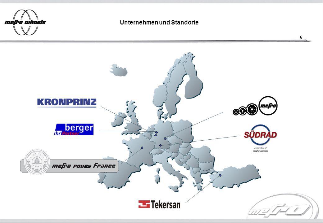 17 Unternehmen und Standorte