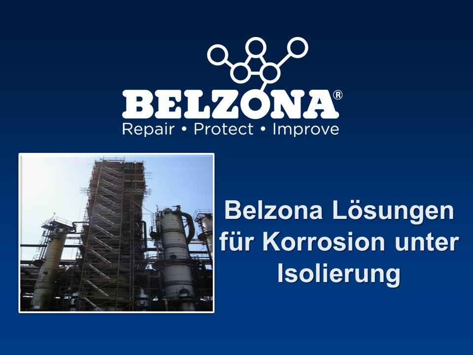 Belzona Lösungen für Korrosion unter Isolierung