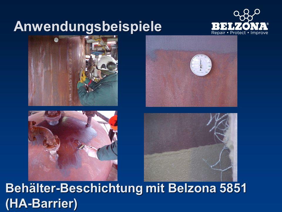 Anwendungsbeispiele Behälter-Beschichtung mit Belzona 5851 (HA-Barrier)