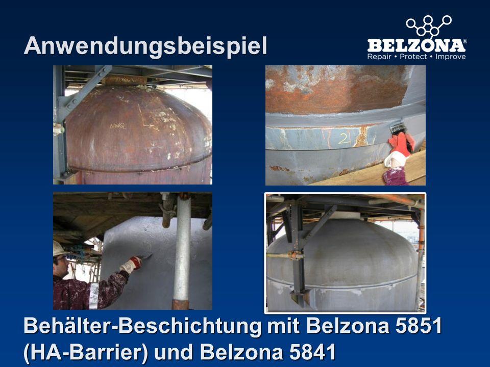 Anwendungsbeispiel Behälter-Beschichtung mit Belzona 5851 (HA-Barrier) und Belzona 5841