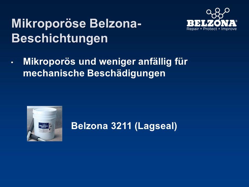 Mikroporöse Belzona- Beschichtungen Mikroporös und weniger anfällig für mechanische Beschädigungen Belzona 3211 (Lagseal)