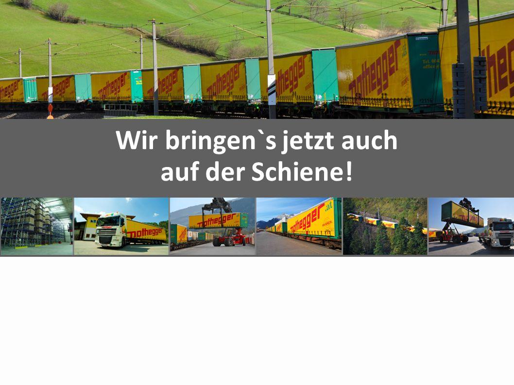 Agenda Unternehmen Facts Intermodal Beweggründe Start / Entwicklung Equipment / Investitionen Linien Zukunft