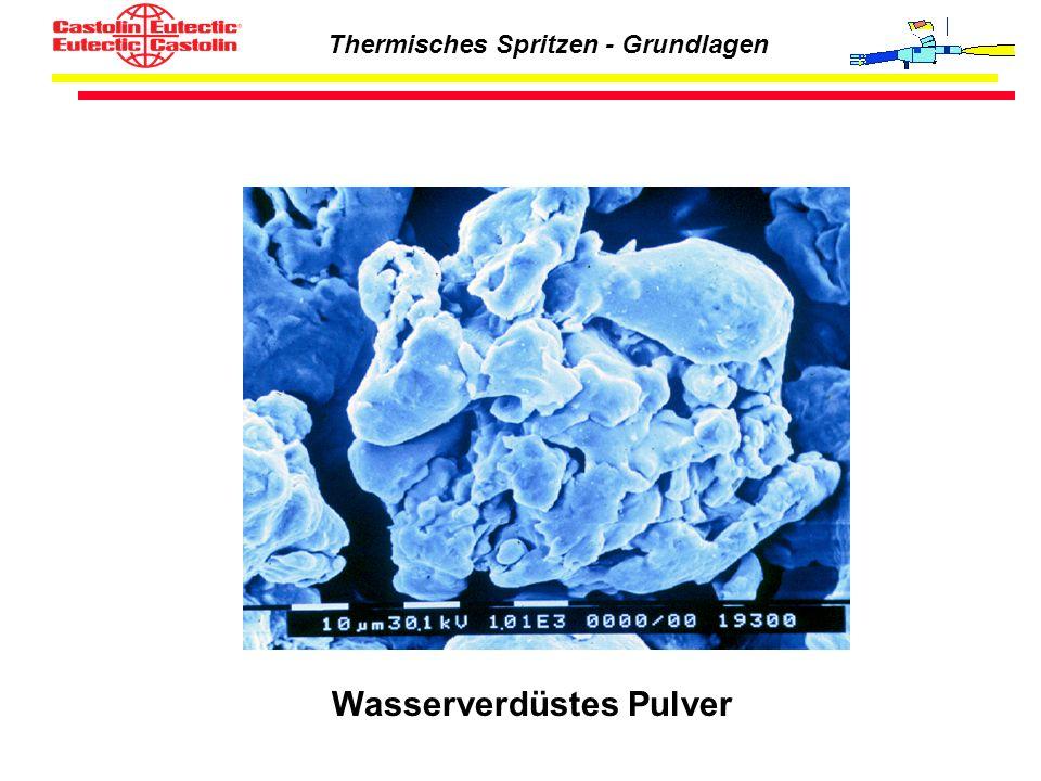 Thermisches Spritzen - Grundlagen Wasserverdüstes Pulver