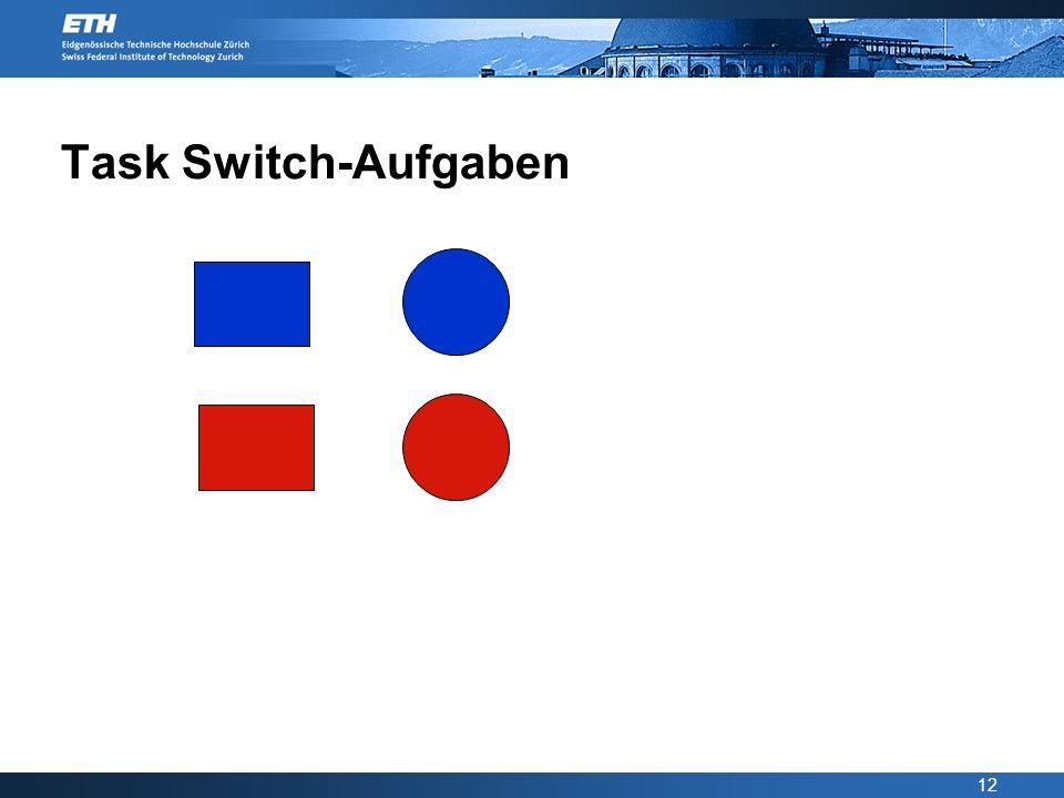 12 Task Switch-Aufgaben