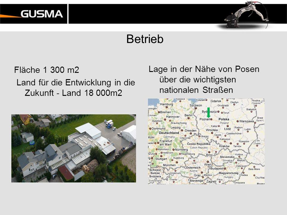 Betrieb Lage in der Nähe von Posen über die wichtigsten nationalen Straßen Fläche 1 300 m2 Land für die Entwicklung in die Zukunft - Land 18 000m2