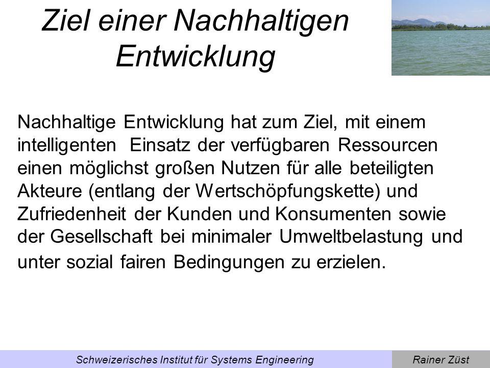 Rainer ZüstSchweizerisches Institut für Systems Engineering Die Falle der zu engen Systemgrenzen [Quelle: Luttropp & Züst 1998]