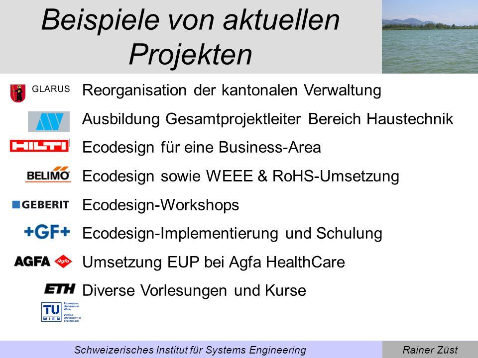 Rainer ZüstSchweizerisches Institut für Systems Engineering Arbeitsbereich Systems Engineering Systems Engineering ist eine systematische Denkweise und Methodik zur Lenkung von Problemlöseprozessen im Kontext anspruchsvoller sozio- technischer Fragestellungen.