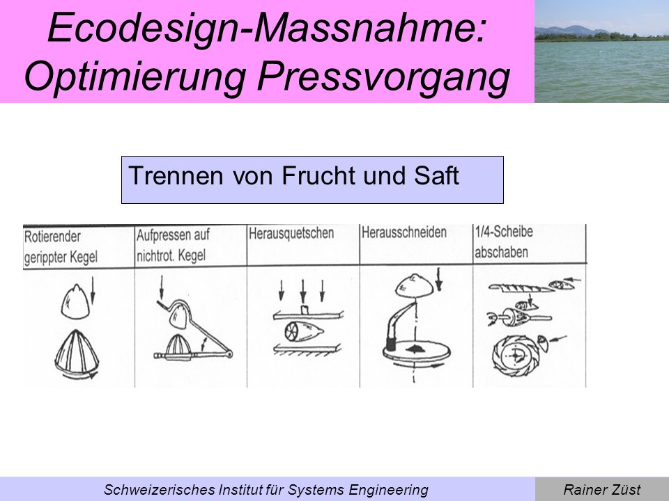 Rainer ZüstSchweizerisches Institut für Systems Engineering Kettle – Wie verbessern?