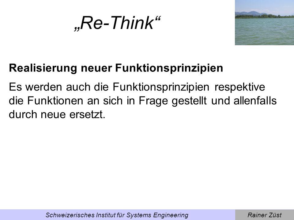 Rainer ZüstSchweizerisches Institut für Systems Engineering Beispiel Haushaltgeräte von James Dyson.