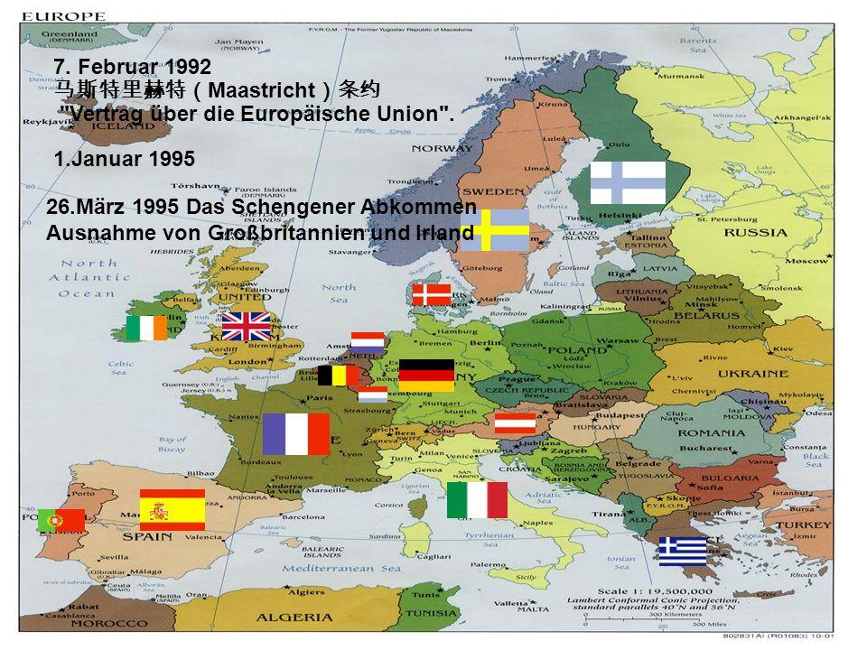 4.Welches Beispiel nennt der Autor zum Vergleich mit der europäischen Einigung .