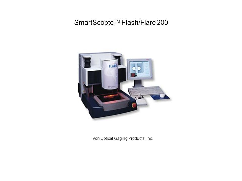 Funktion Die Funktionsweise der SmartScope ist im Prinzip ähnlich wie bei einer Digitalkamera, mit dem einzigen Unterschied, dass das optische Messgerät eine viel präzisere Optik hat die mit einem guten Mikroskop verglichen werden kann.