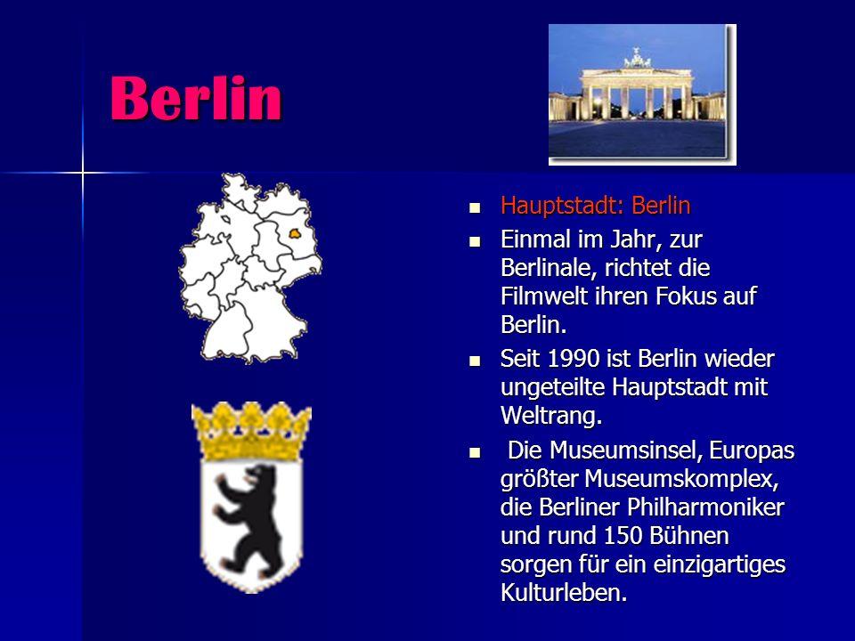 Berlin Hauptstadt: Berlin Hauptstadt: Berlin Einmal im Jahr, zur Berlinale, richtet die Filmwelt ihren Fokus auf Berlin. Einmal im Jahr, zur Berlinale