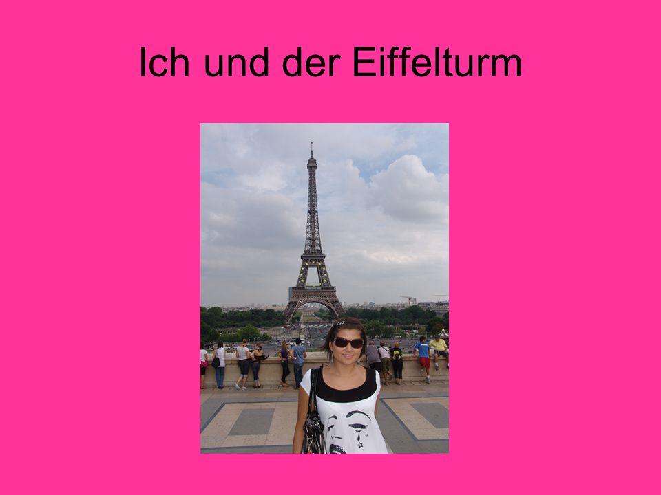 Ich und der Eiffelturm