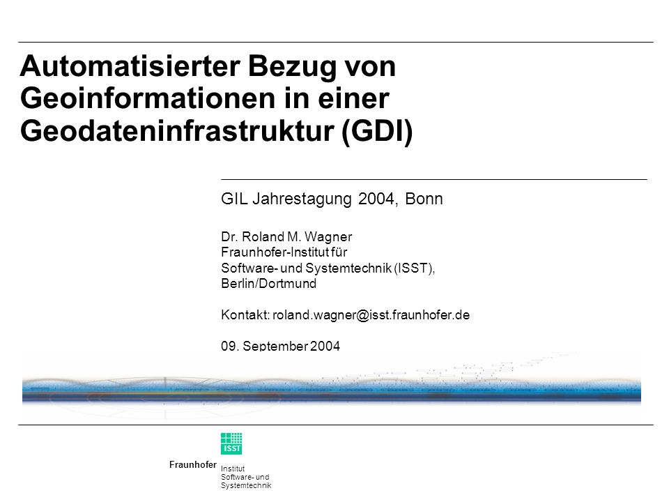 Institut Software- und Systemtechnik Fraunhofer ISST 11 Wert Veredelungsstufen aus Sicht der Anbieter AnbieterNutzer