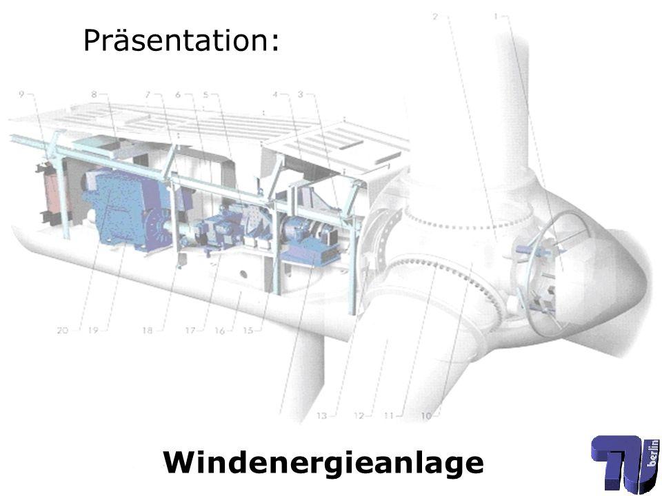 Aufgaben: Konstruktion eines Getriebes Konstruktion einer Bremse und einer Kupplung Auswahl eines passenden Generators Gesamtbauraum so klein wie möglich halten