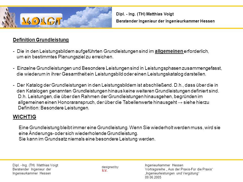 designed by S.V. Definition Grundleistung - Die in den Leistungsbildern aufgeführten Grundleistungen sind im allgemeinen erforderlich, um ein bestimmt