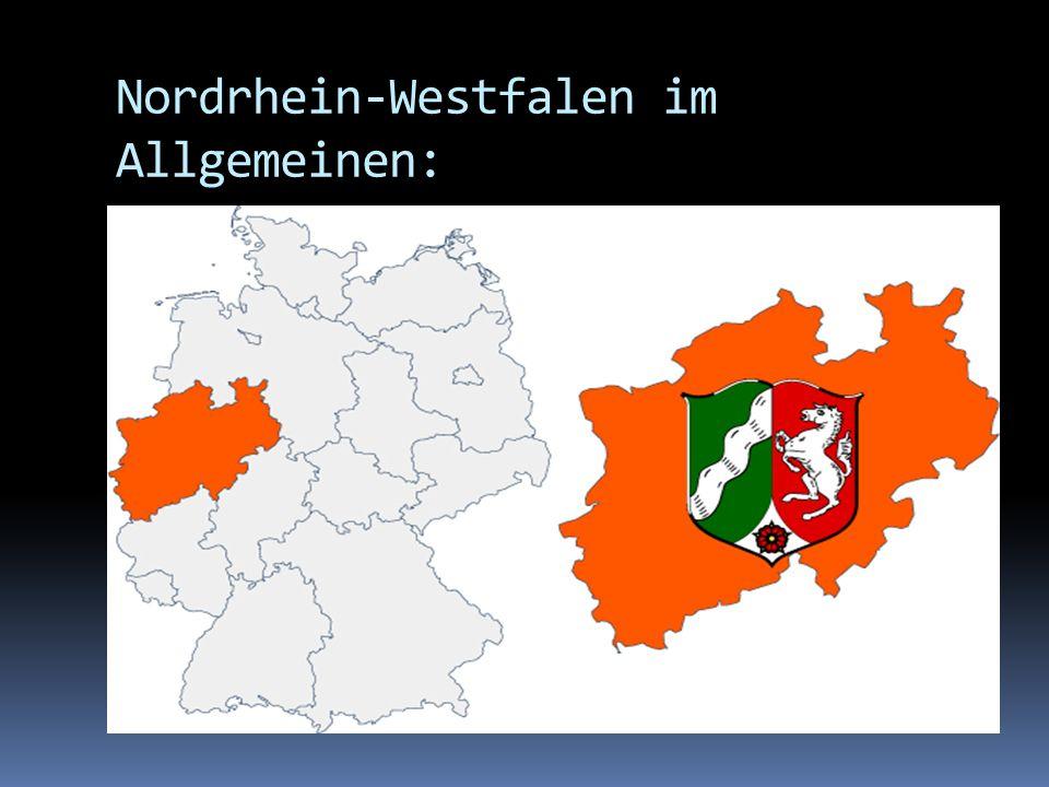 Nordrhein-Westfalen im Allgemeinen: