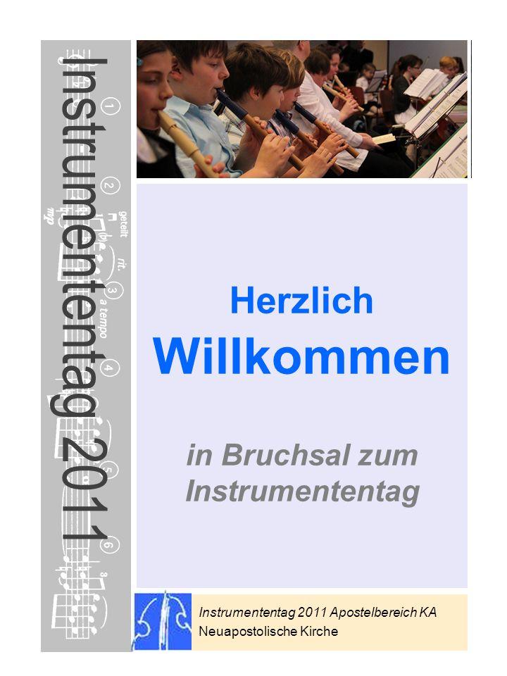 Instrumententag 2011 Apostelbereich KA Neuapostolische Kirche * Preise sind subjektive Einschätzungen als Anhaltspunkt Instrumententag 2011 Herzlich W