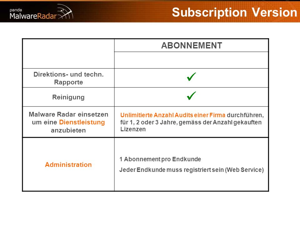 Subscription Version ABONNEMENT Direktions- und techn.