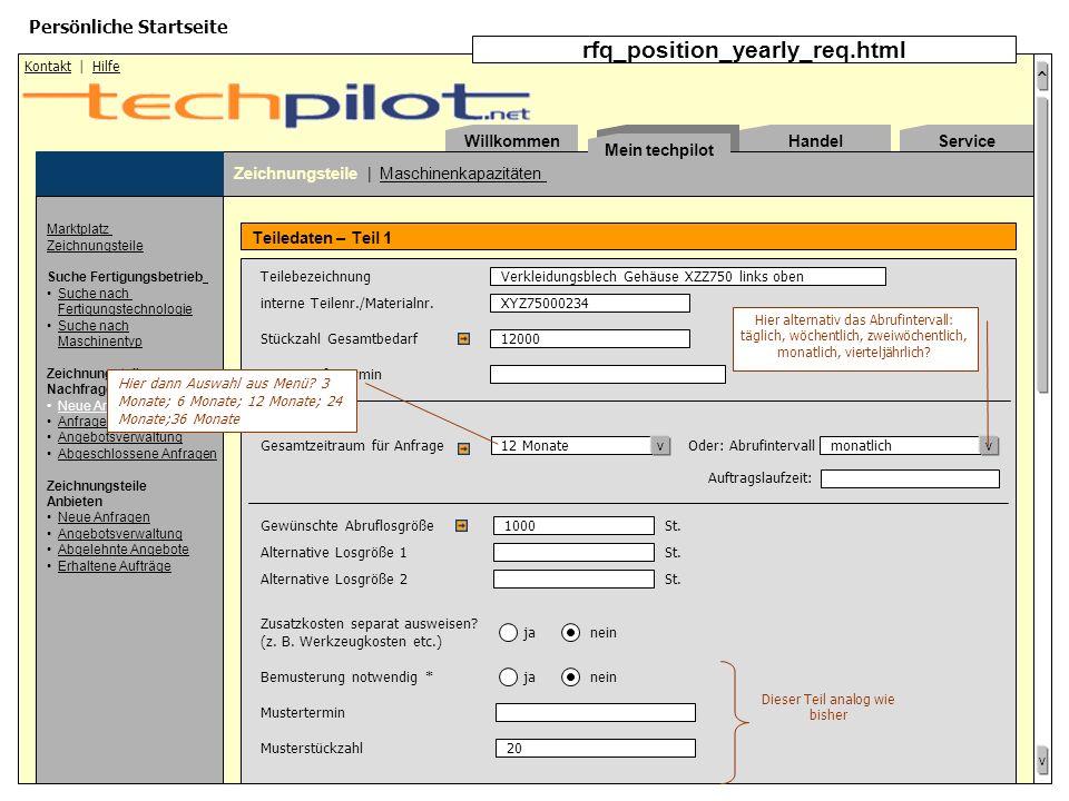 ^ v Willkommen | Mein techpilot | Kapazitäten | Zeichnungsteile Copyright © 2000, 2001 DynamicMarkets GmbH. Es gelten die Allgemeinen Geschäftsbedingu