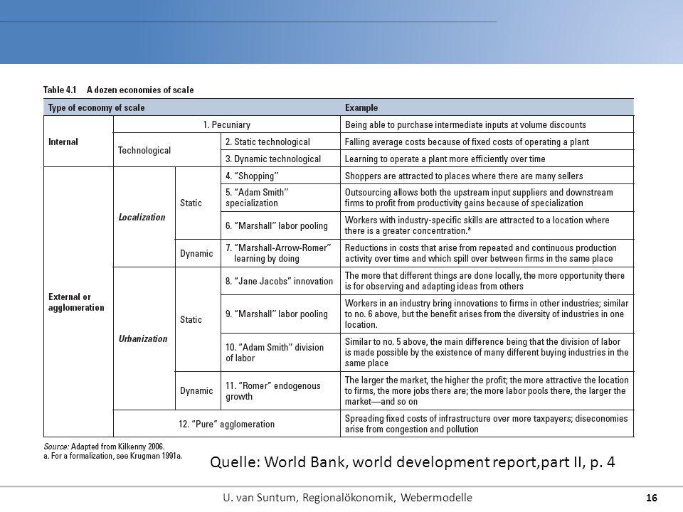 16 Quelle: World Bank, world development report,part II, p. 4
