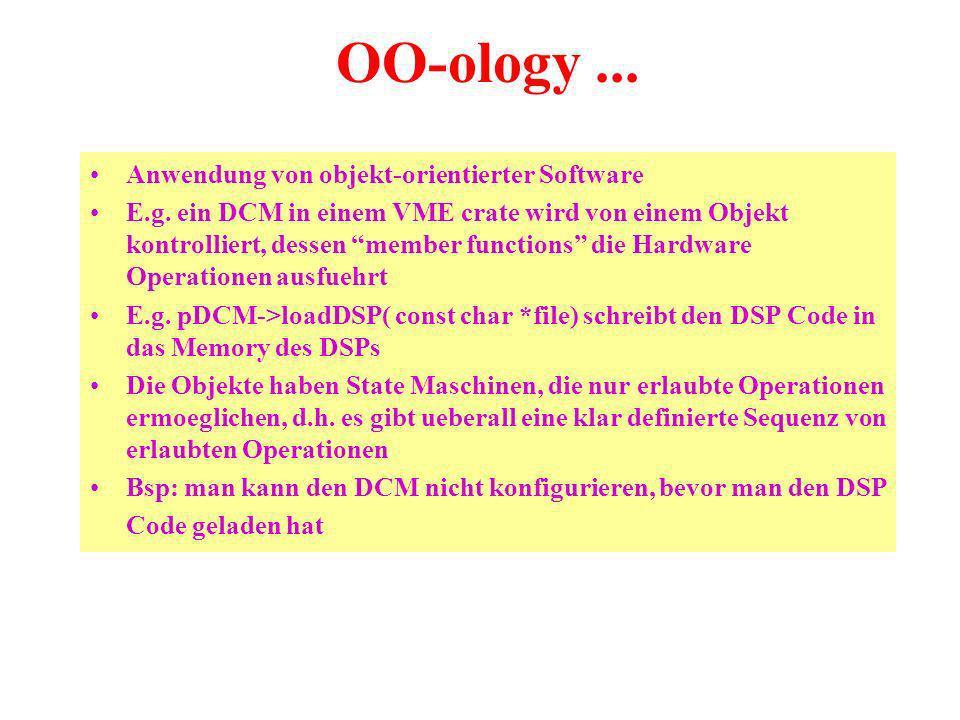 OO-ology... Anwendung von objekt-orientierter Software E.g.