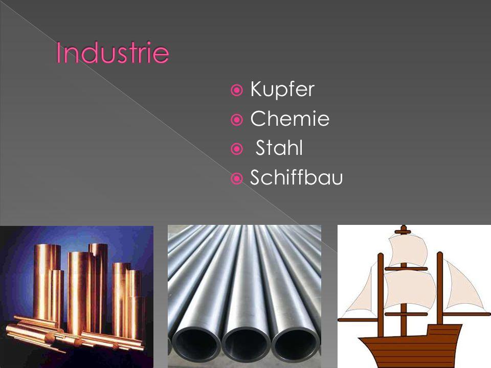 Kupfer Chemie Stahl Schiffbau