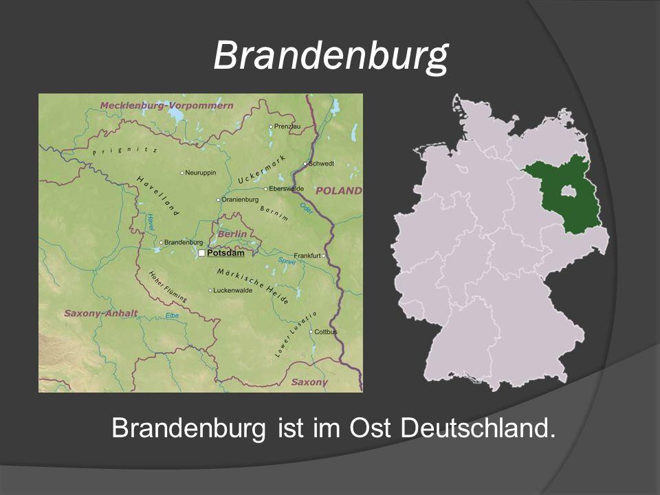 Brandenburg Brandenburg ist im Ost Deutschland.