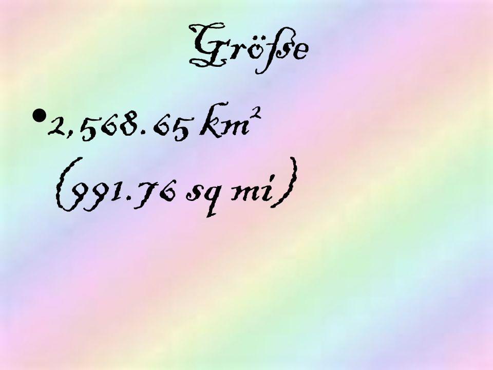 Größe 2,568.65 km 2 (991.76 sq mi)