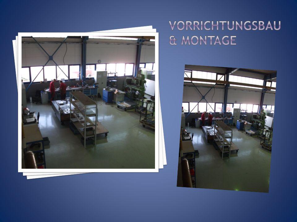 1 CNC – Drehmaschine mit 24 Werkzeugen, davon 12 angetrieben.