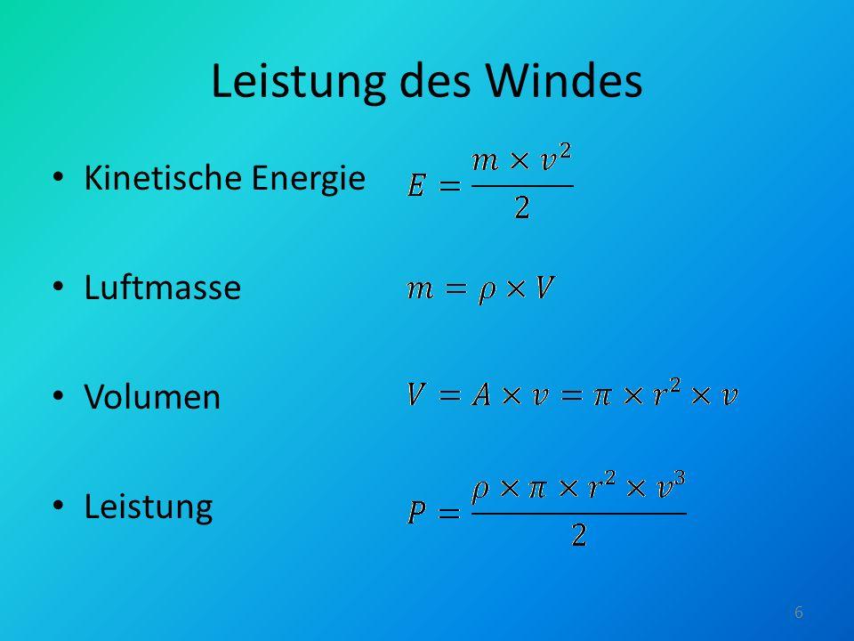 Europäische Windgeschwindigkeiten 7